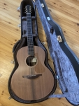 Lowden F50, Sinker Redwood Top, Macassar Ebony Body, Bevel