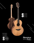 Sheeran by Lowden S01, Walnut/Cedar