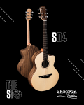 Sheeran by Lowden S04 Figured Walnut Sitka Spruce Cutaway
