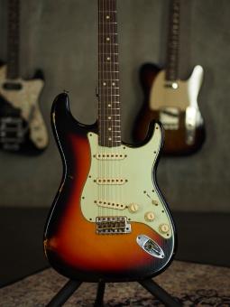 Fender Custom Shop 1963 Relic® Stratocaster®, Rosewood Fingerboard, 3-Color Sunburst, SOLD!