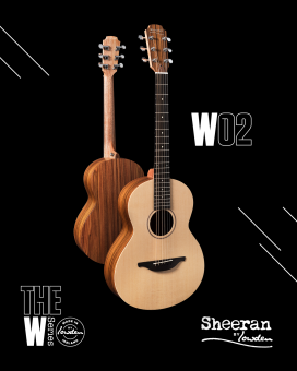 Sheeran by Lowden W02 Santos Rosewood Sitka Spruce