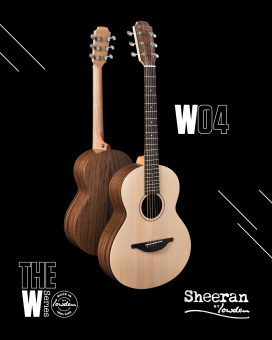 Sheeran by Lowden W04 Figured Walnut - Sitka Spruce Bevel