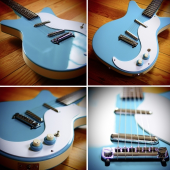 Danelectro D59M NOS, Baby blue, SOLD!