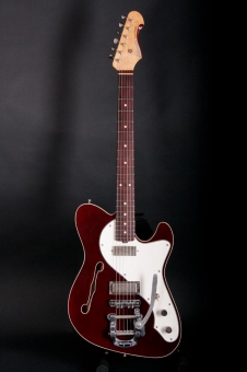 Schwarz Custom Guitars Supercharger FF, ruby red, SOLD!