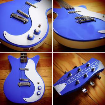 Danelectro D59M NOS, blue