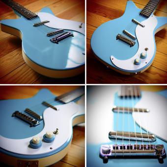 Danelectro D59M NOS, Baby blue, SOLD!