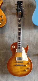 Schwarz Custom Guitars St. Helens, Summit, Amberburst, light aged, Kloppmann HB59, SOLD!