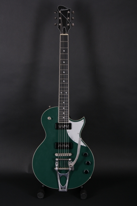 Schwarz Custom Guitars Challenger, aged BRG, SOLD!