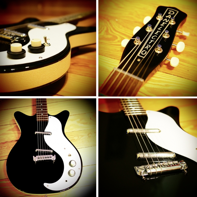 Danelectro D59M NOS, black, SOLD!