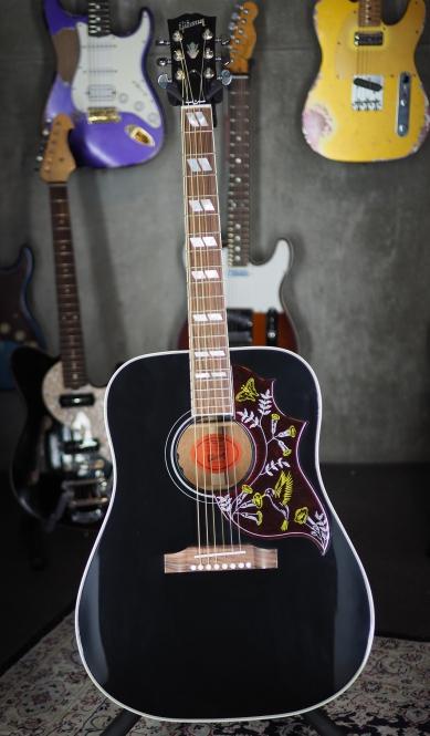 Gibson Hummingbird ebony, 2016, L.R. Baggs VTC Pickup System, SOLD!