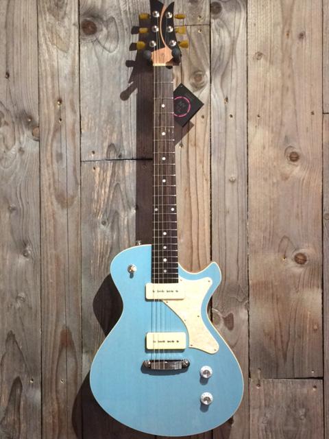 "Frank Hartung ""Junico"" Custom, TV sonic blue, SOLD!"