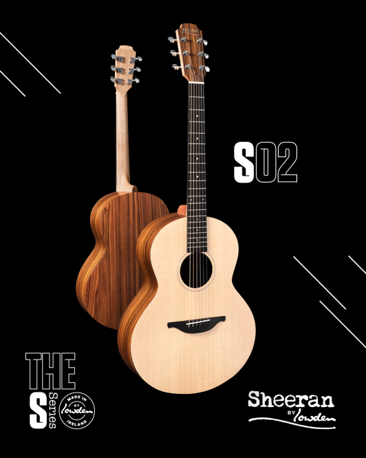 Sheeran by Lowden S02, Santos Rosewood/Sitka Spruce