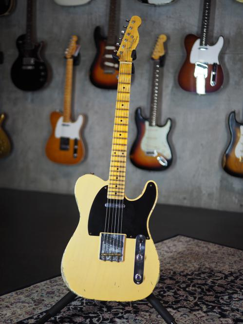 Fender Custom Shop Telecaster 1952 Heavy Relic, Nocaster Blonde