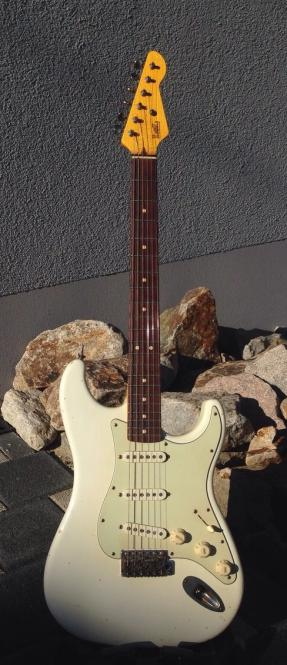 LsL Saticoy, vintage white, Rosewood Neck, SOLD!
