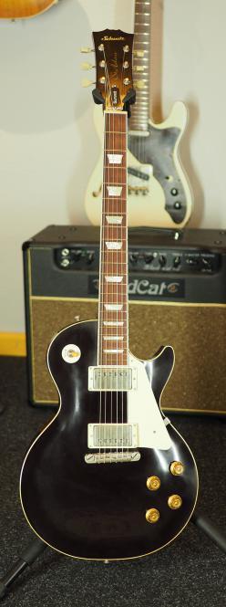 Schwarz Custom Guitars St. Helens, Summit, Oxblood, light aged, Kloppmann HB 59 Pickups