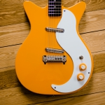 Danelectro D59M NOS, orange, SOLD!