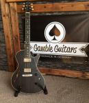 Gamble Guitars Rockfire Semi, Black Jack Edition, - SOLD!