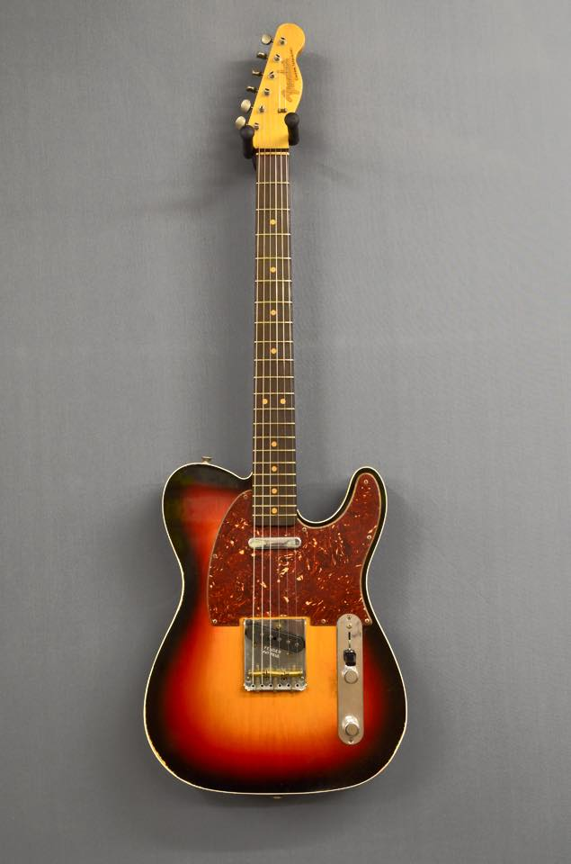 Fender Custom Shop Telecaster 63 Relic SOLD
