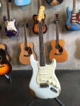 Fender Custom Shop Stratocaster '62 Resident Edit., Sonic Blue, heavy relic, SOLD!