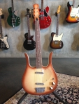 Danelectro Longhorn Guitar, copper burst, SOLD!