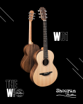 Sheeran by Lowden W01 Walnut Cedar