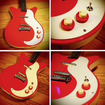Danelectro D59M NOS, red, SOLD!