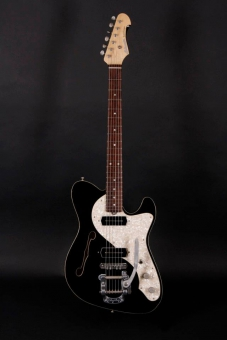 Schwarz Custom Guitars Supercharger CC, black, SOLD!