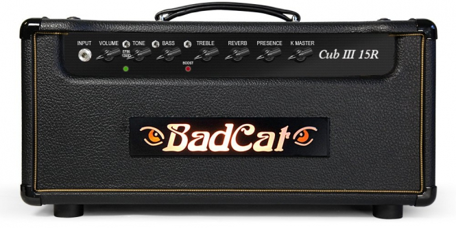 Bad Cat Cub 15R, Head, Showroom Model, SOLD!